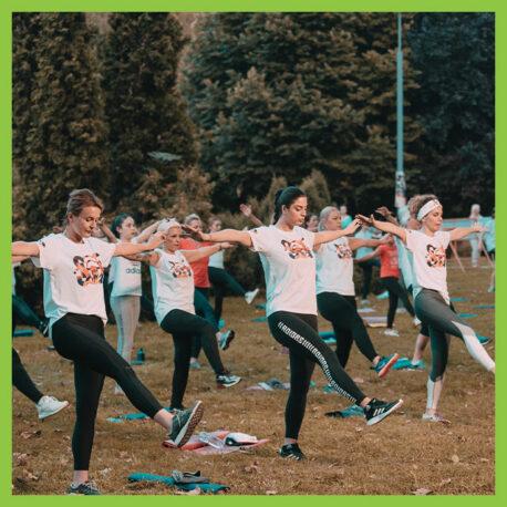 Вежбаме во парк
